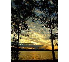 By the lakes edge Photographic Print