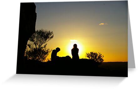Sunset At Broken Hill by Rossman72