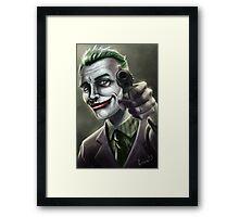 Just Joking! Framed Print