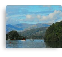 Tranquility on Windermere Canvas Print