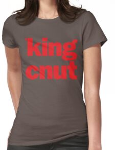 'king cnut Womens Fitted T-Shirt