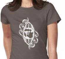 Eye On Earth - White Womens Fitted T-Shirt