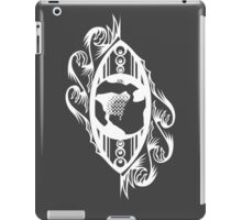 Eye On Earth - White iPad Case/Skin
