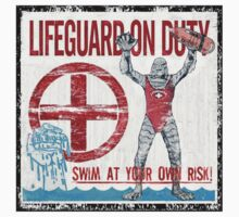 The Lifeguard Creature Is On Duty (1) T-Shirt