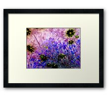 Life in the undergrowth Framed Print