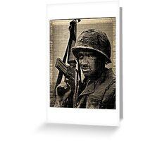 Rifleman Greeting Card