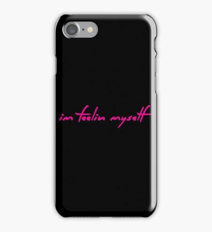 The Pinkprint: Feeling Myself [Feelin Lyric] iPhone Case/Skin