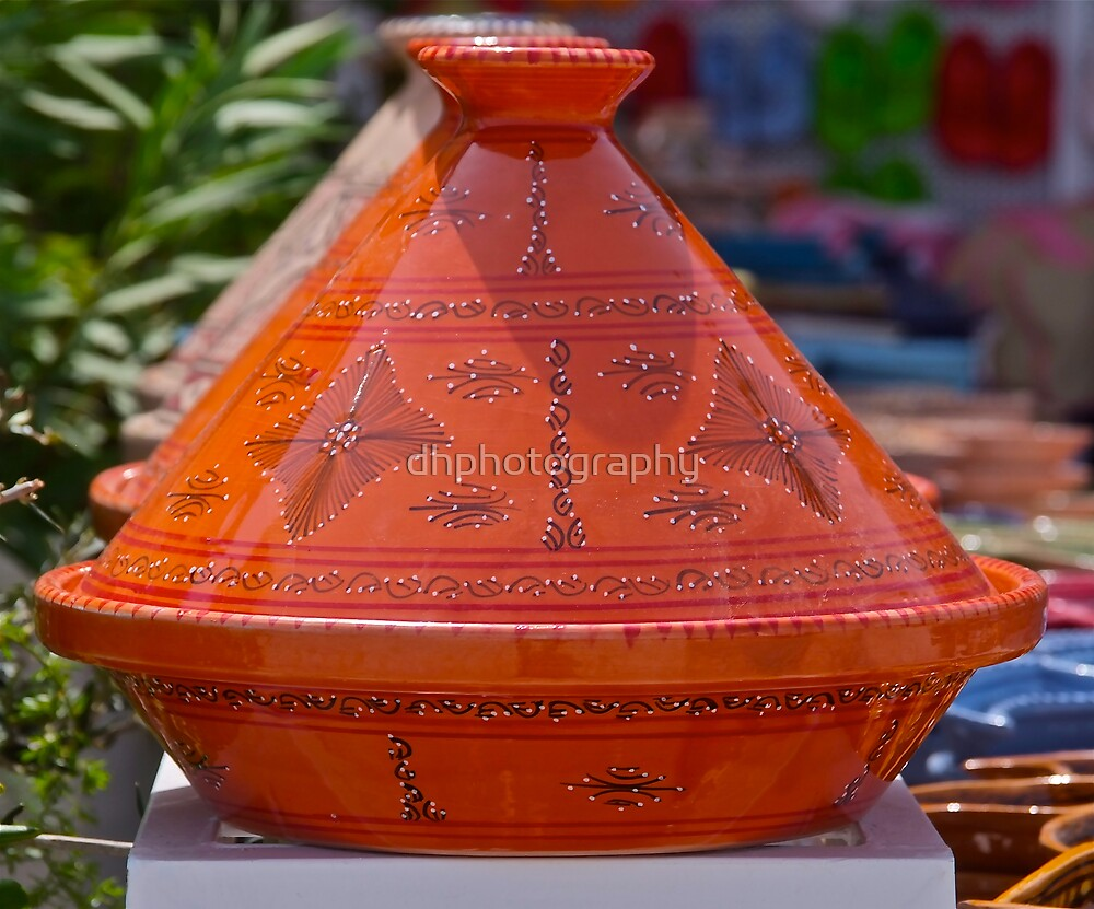Colourful pots for sale by dhphotography