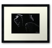 The Intensity of Flamenco Framed Print