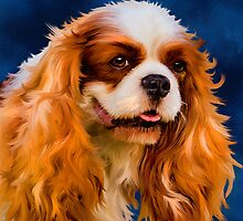 Chelsea - Cavalier King Charles Spaniel by Michelle Wrighton