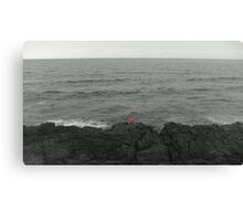 Lone Angler Canvas Print