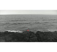 Lone Angler Photographic Print