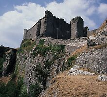 Carreg Cennen Castle  by DMHImages