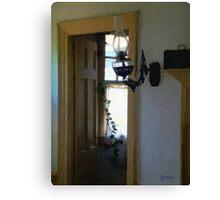 Sitting Room Doorway Canvas Print