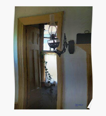 Sitting Room Doorway Poster