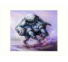 Biobot Art Print