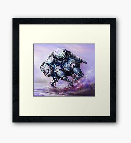 Biobot Framed Print