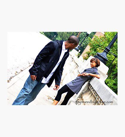 body language Photographic Print