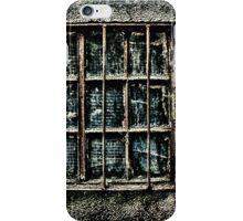 Broken Metal Window Fine Art Print iPhone Case/Skin