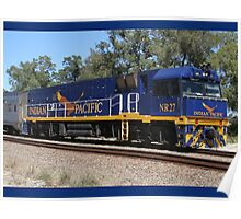 The Indian Pacific - Diesel Loco Poster