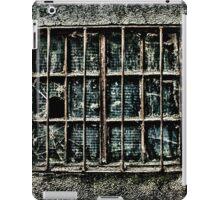 Broken Metal Window Fine Art Print iPad Case/Skin