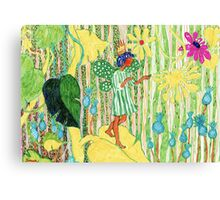 Flower Elf Canvas Print