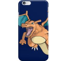 pokemon charizard dragon anime shirt iPhone Case/Skin