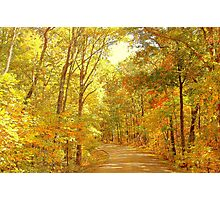Take me Home Country Road Photographic Print