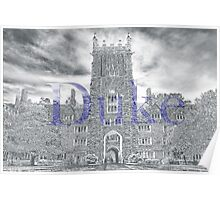 Duke West Campus Poster
