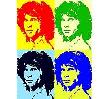 Jim Morrison times four Photographic Print