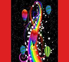 The Balloons over the Rainbow Unisex T-Shirt
