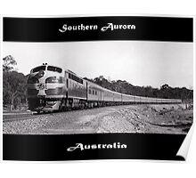 Southern Aurora - Diesel- Australia Poster