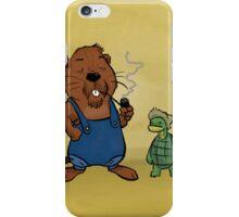 Beaver and Tortoise iPhone Case/Skin