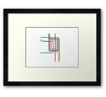 The Loop Framed Print