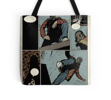 Unlettered Comic Page Tote Bag