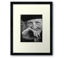 Portraits : BEST Marie beloved at Natural ... version 7 N & B  collector  1977 7  (c)(t) by Olao-Olavia / Okaio Créations Framed Print