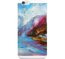 BIG SUR, Pfeiffer Beach Storm Coming In iPhone Case/Skin