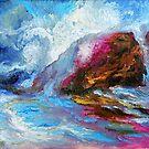 BIG SUR, Pfeiffer Beach Storm Coming In by Barbara Sparhawk