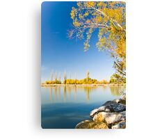 Lake Burley Griffin Canberra Canvas Print