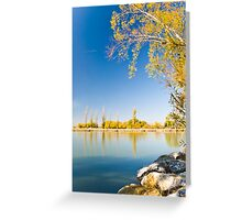 Lake Burley Griffin Canberra Greeting Card