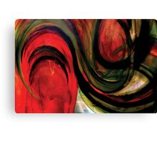"""RED """"TOMATO TAM OTTO"""" Canvas Print"""