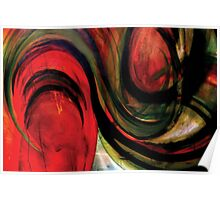 """RED """"TOMATO TAM OTTO"""" Poster"""