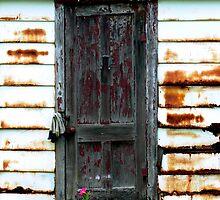 An Old Garage Door by Hope Ledebur