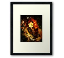 jungle jane Framed Print