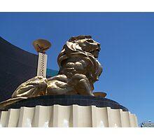 MGM LI0N Photographic Print