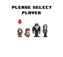 Please Select Player Photographic Print