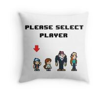 Please Select Player Throw Pillow
