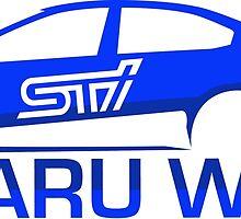 Subaru WRX STi by CameronBurke12