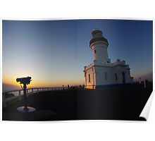 Byron Bay Lighthouse II Poster