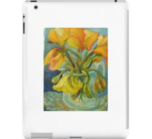 YELLOW TULIPS, the ebb and flow iPad Case/Skin